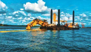Investment in dredging in the port of Mazatlan