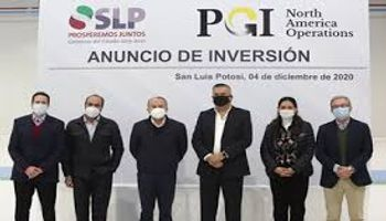 PGI factory in SLP will be a 540million investment in the state.