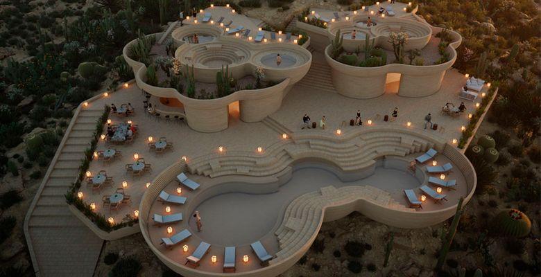Ummara, the new vacation resort in Baja California.