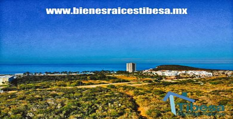 Land for sale in Mazatlan, in front of the Riu Hotel and Colinda Hotel