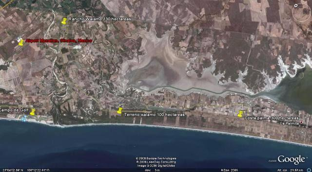 Land in Beach Costa Palma Mazatlán | Land For Sale Mazatlan